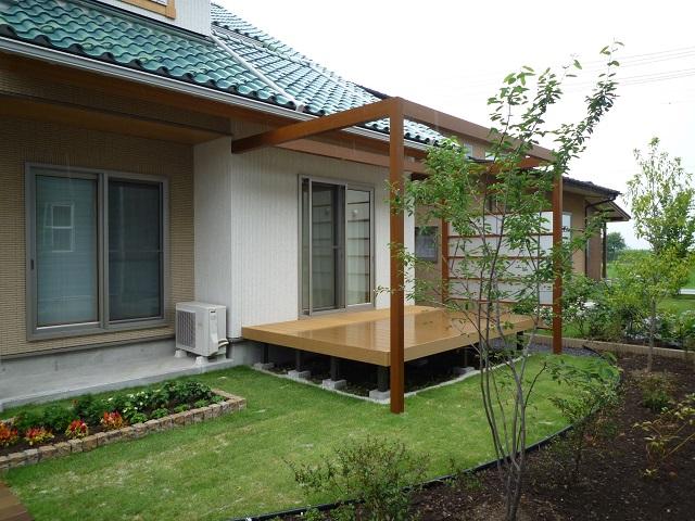 樹脂デッキ、プラスG、ガーデン