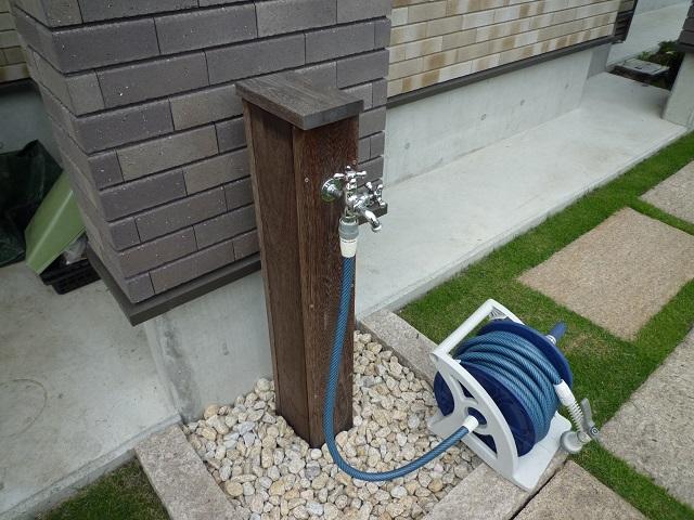 外水栓、ハードウッド